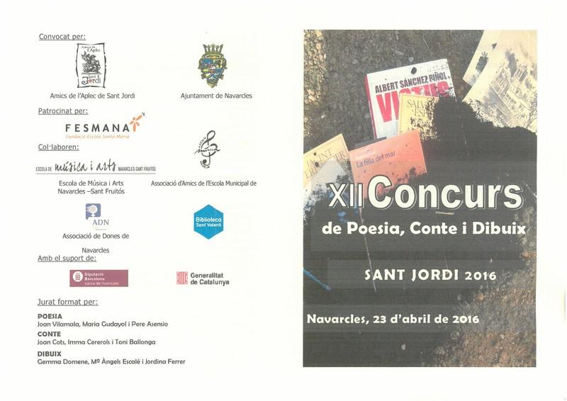 lliurament de premis XII concurs de poesia, conte, dibuix S. Jordi C126_2016-2_Página_2.jpg
