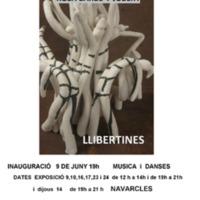 """Exposició de ceràmica Rosa Barbé i Jubert """"Llibertines"""". 2018"""