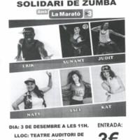 II Matinal solidari de zumba amb la Marató de TV3