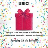 Arriba S. Joan als comerços de la UBIC!