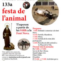 Sant Antoni. 133a. festa de l'animal