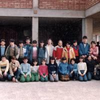 Alumnes Escola Santa Maria 1984_9621