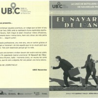 """La Unió de Botiguers i Comerciants de Navarcles presenten """"El navarclí de l'any"""""""