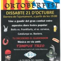 Botifarrada vs Oktoberfest