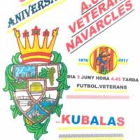 39 Aniversari A.C.F. Veterans Navarcles