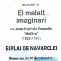 """El grup de teatre de l'Esplai de Moià presenta """"El malalt imaginari"""""""