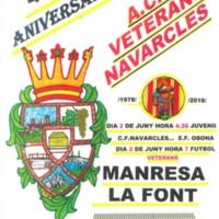 40 aniversari A.C.F. Veterans Navarcles. 2018