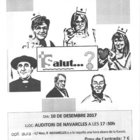 """Navarcles amb la Marató de TV3 """"Salut...?"""""""