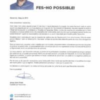 Iniciativa per Catalunya Verds. Fes-ho possible