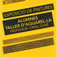 Exposició de pintures alumnes Taller d'aquarel·la d'Oriol Olivé