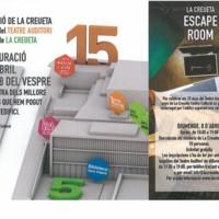 Exposició 15 anys del Teatre Auditori i 5 anys de la Creueta. Escape room. 2018