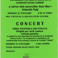 Concert de la Coral Polifònica Joia d'Alella