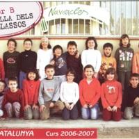 Alumnes Escola Catalunya 2006-2007_9219