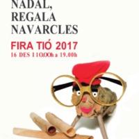 Aquest Nadal, regala Navarcles. FIRA TIÓ 2017. Cartell
