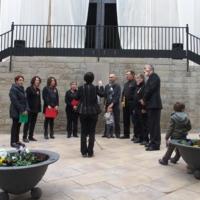 Inauguració de la façana de l'església de Santa Maria 2014_9706