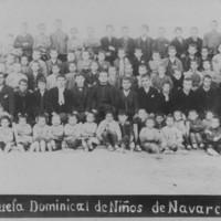 Grup de nens de l'Escola Dominical de nens_803