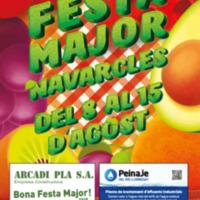 Festa Major de Navarcles, del 8 al 15 d'agost de 2019