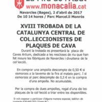 XVIII Trobada de la Catalunya Central de col·leccionistes de plaques de cava