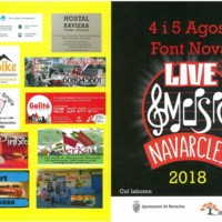 Live Music  Navarcles 2018