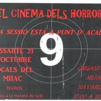 El cinema dels horrors. La sessió està a punt d'acabar