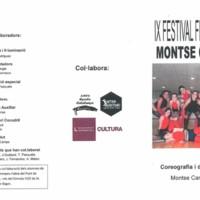 IX Festival fi de curs Montse Camps